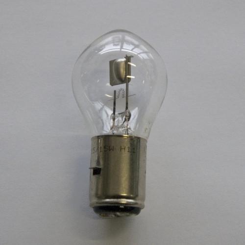 LAMPADINA VESPA FANALE ANTERIORE 6V 25+25W