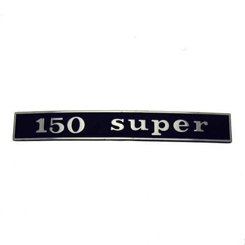"""SCRITTA VESPA POSTERIORE """"150 SUPER"""""""