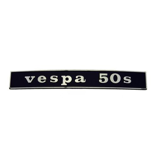 """SCRITTA VESPA POSTERIORE """"VESPA 50 S"""""""