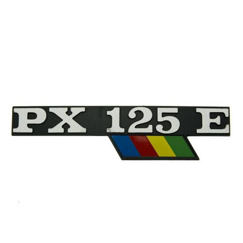 """SCRITTA VESPA LATERALE """"PX125E ARCOBALENO"""""""