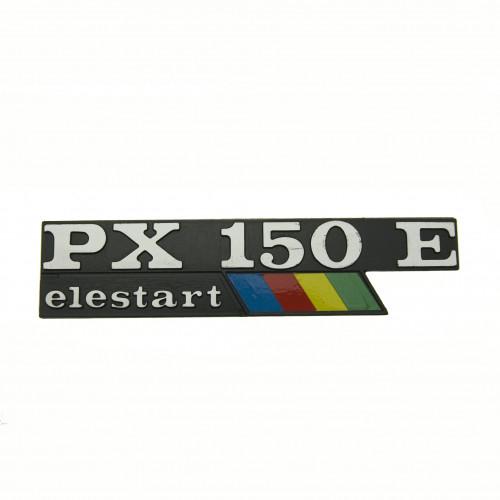 """SCRITTA VESPA LATERALE """"PX150E ARCOBALENO ELESTART"""""""