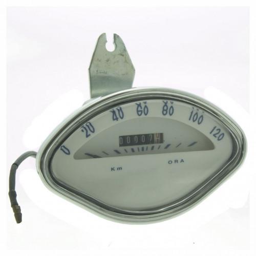 CONTACHILOMETRI VESPA 120 KMH (RIPRODUZIONE)