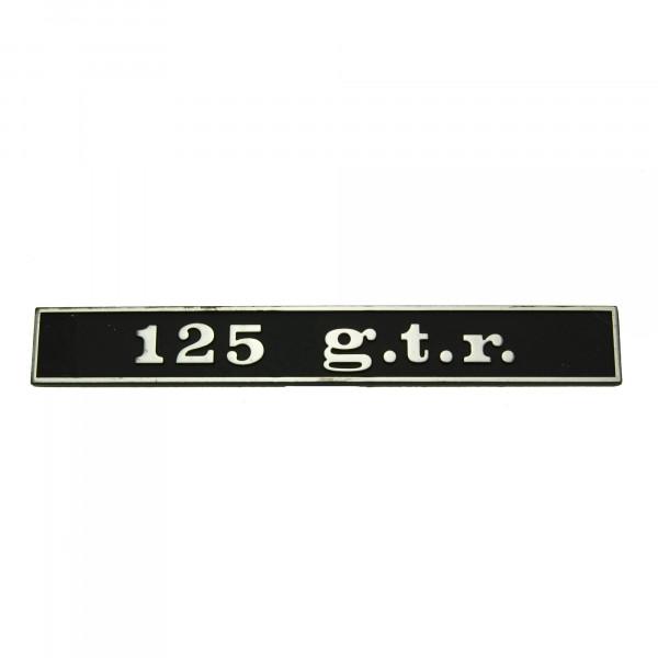 """SCRITTA VESPA POSTERIORE """"125 g.t.r."""""""